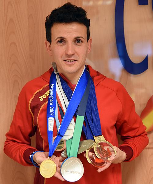 Juan Carlos Higuero, currículum deportivo